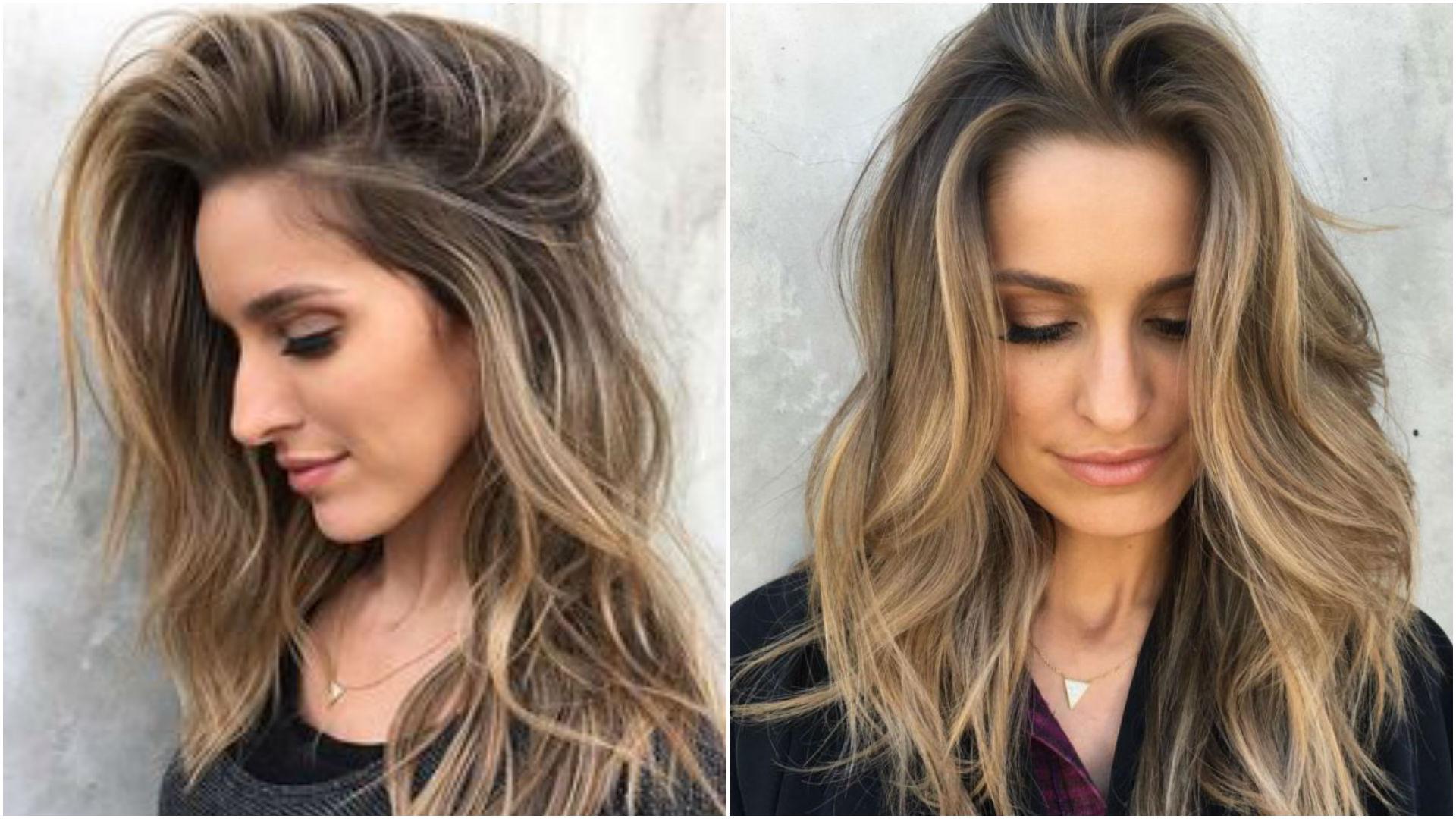 Стрижки для тонких волос средней длины, редких